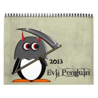 悪PENGUIN™の漫画のカレンダー2013年 カレンダー