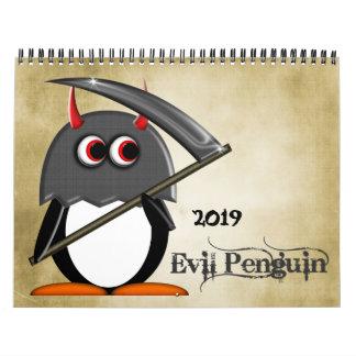悪PENGUIN™の漫画のカレンダー2016年 カレンダー
