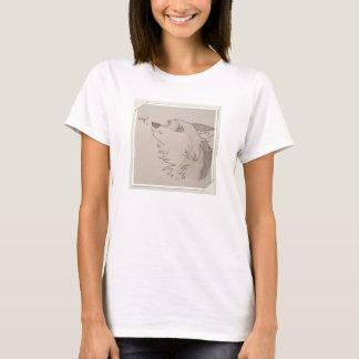 悲しいオオカミ Tシャツ