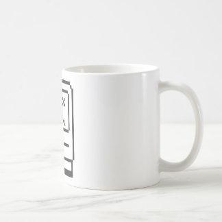 悲しいコンピュータアイコン コーヒーマグカップ