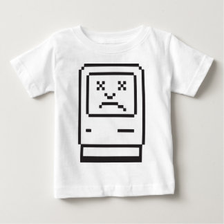 悲しいコンピュータアイコン ベビーTシャツ