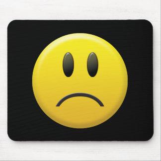 悲しいスマイリーフェイス マウスパッド