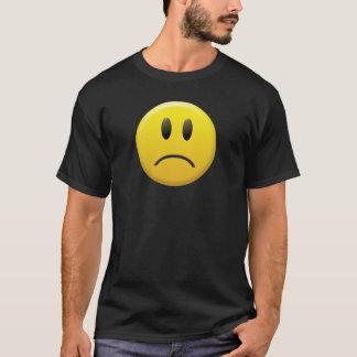 悲しいスマイリーフェイス Tシャツ