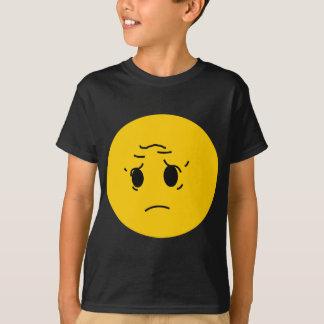 悲しいスマイリー Tシャツ