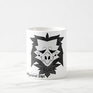 悲しいドラゴンのマグ コーヒーマグカップ