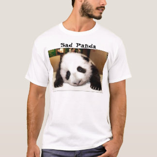 悲しいパンダ Tシャツ