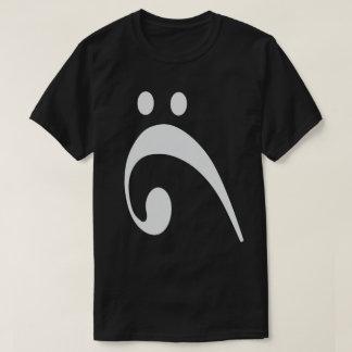 悲しいヘ音記号 Tシャツ