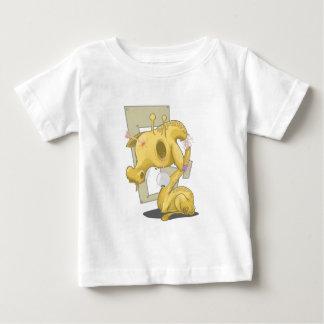 悲しい動物 ベビーTシャツ
