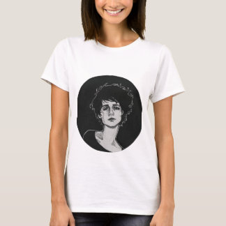 悲しい女性 Tシャツ