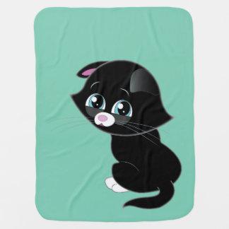 悲しい子ネコ毛布 ベビー ブランケット