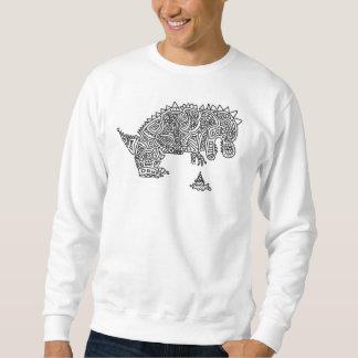 悲しい恐竜 スウェットシャツ