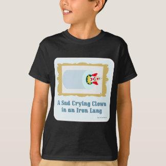 悲しい泣き叫びのピエロ Tシャツ