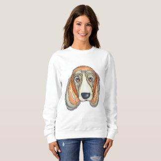 悲しい犬 スウェットシャツ