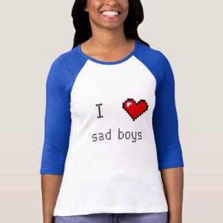 悲しい男の子 Tシャツ