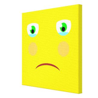 悲しい箱のキャンバスを感じること キャンバスプリント