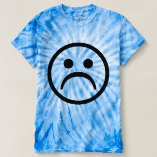 悲しい絞り染め Tシャツ