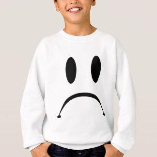 悲しい顔 スウェットシャツ