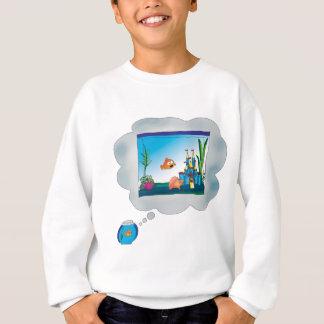 悲しい魚 スウェットシャツ