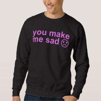 悲しい スウェットシャツ