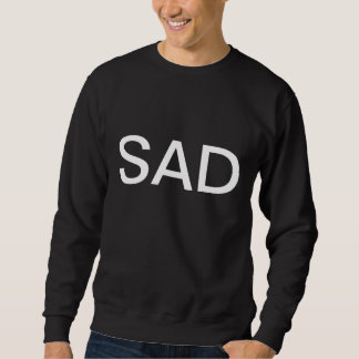 悲しいcrewneck スウェットシャツ