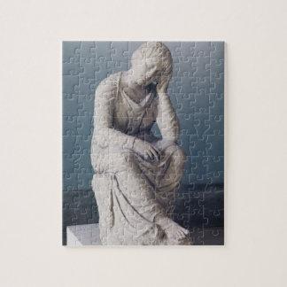 悲しむ娘、アチック、ギリシャ、c.330紀元前に(石) ジグソーパズル
