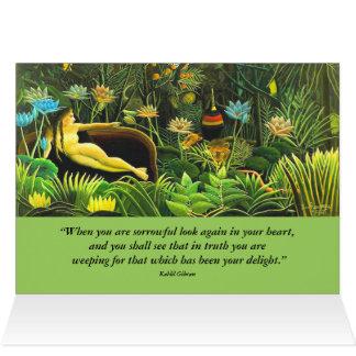 悲哀および歓喜 カード