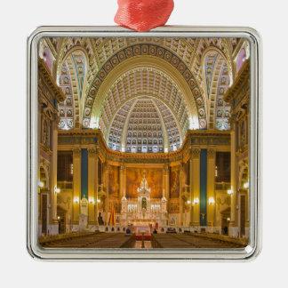 悲哀のバシリカ会堂の国民の神社の私達の女性 メタルオーナメント