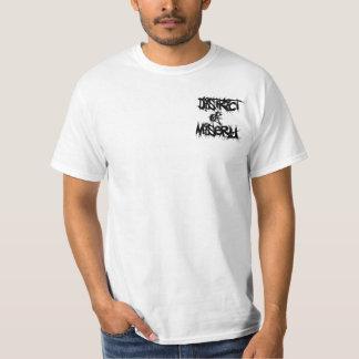 悲惨さの地区 Tシャツ