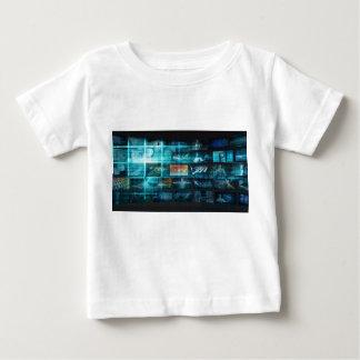 情報技術またはそれ芸術としてInfotech ベビーTシャツ