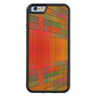 情報抽象芸術のホール CarvedチェリーiPhone 6バンパーケース