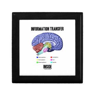 情報転送の内部(頭脳の解剖学) ギフトボックス