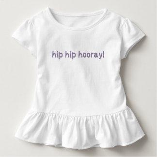 情報通のお尻のHooray異形成の認識度 トドラーTシャツ