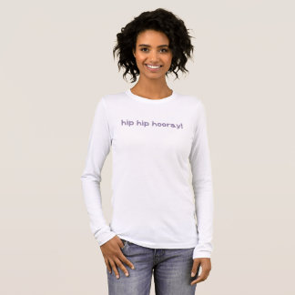 情報通のお尻のHooray異形成の認識度 Tシャツ