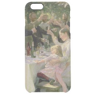 情報通のお尻万歳! Skagen 1888年の芸術家のパーティー クリア iPhone 6 Plusケース
