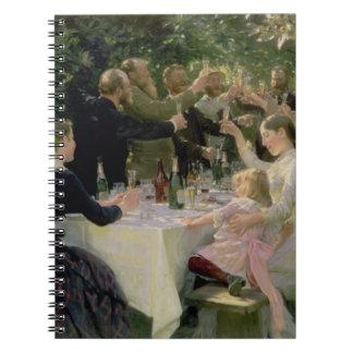 情報通のお尻万歳! Skagen 1888年の芸術家のパーティー ノートブック