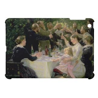 情報通のお尻万歳! Skagen 1888年の芸術家のパーティー iPad Mini カバー
