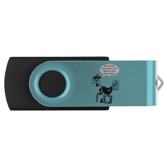 情報通の取り替えの外科-おもしろいの引用文 USBフラッシュドライブ