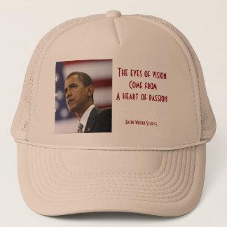 情熱のバラック・オバマのハート キャップ