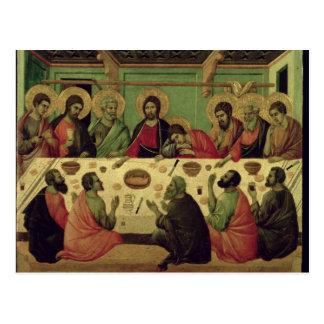 情熱の祭壇の背後の飾りからの最後の晩餐、 ポストカード