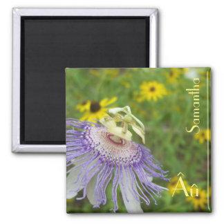 情熱の花の自閉症の磁石 マグネット