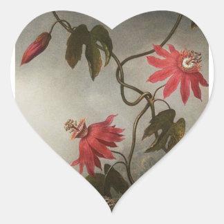 情熱の花 ハートシール