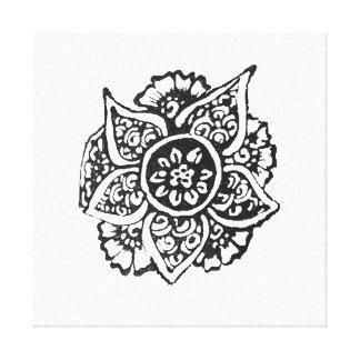 情熱の花(Henna) キャンバスプリント
