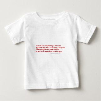 情熱(赤い) ベビーTシャツ