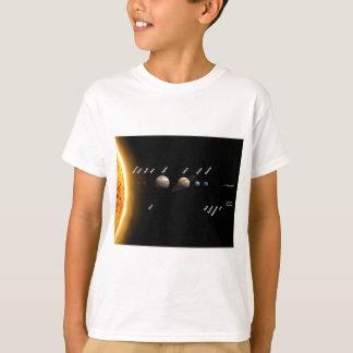 惑星および小型惑星 Tシャツ