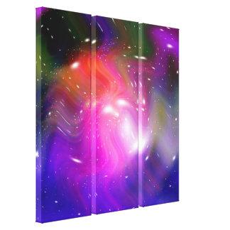 惑星および銀河系2の星 キャンバスプリント