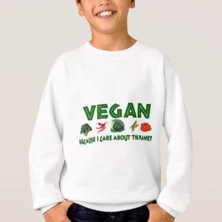 惑星のためのビーガン スウェットシャツ