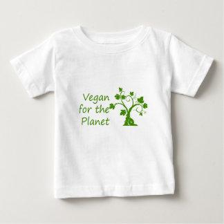 惑星のためのビーガン ベビーTシャツ