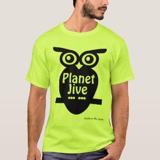 惑星のジャイヴのレトロのフクロウのワイシャツ Tシャツ