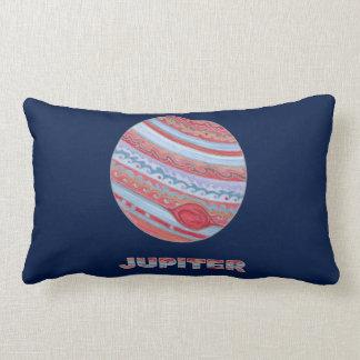 惑星のジュピターのカラフルな宇宙のギークの宇宙のテーマ ランバークッション