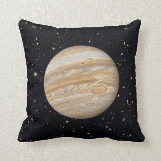 惑星のジュピターの星明かりの空の装飾用クッション クッション